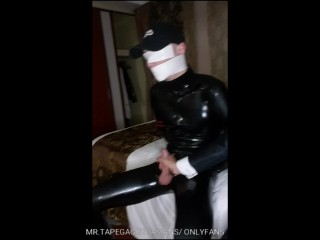 Chinese Rubber Related Life Added To Bogged Down Gagged Gross Cum Unperturbed Added To Edged.